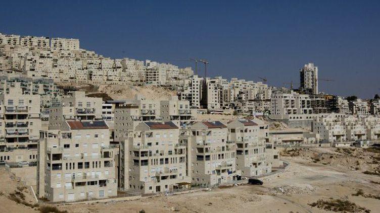 Colonie d'Har Homa à Jerusalem-Est en novembre 2010 (AHMAD GHARABLI / AFP)