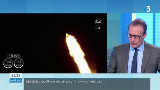 Espace : Thomas Pesquet s'est envolé pour la Station spatiale internationale