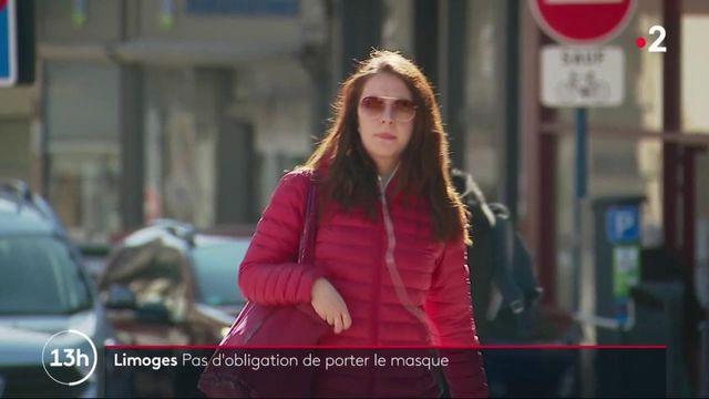 Covid-19 : Limoges, l'une des rares villes à ne pas imposer le port du masque