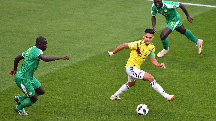 La Colombie et le Sénégal se neutralisent  (FABRICE COFFRINI / AFP)