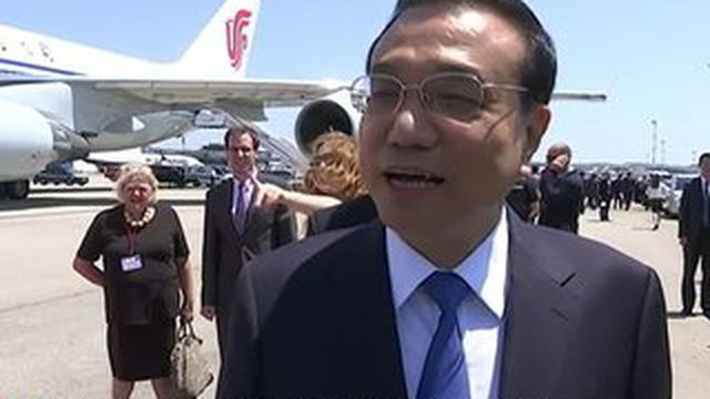 Le Premier ministre chinois a signé de nouveaux contrats en France.