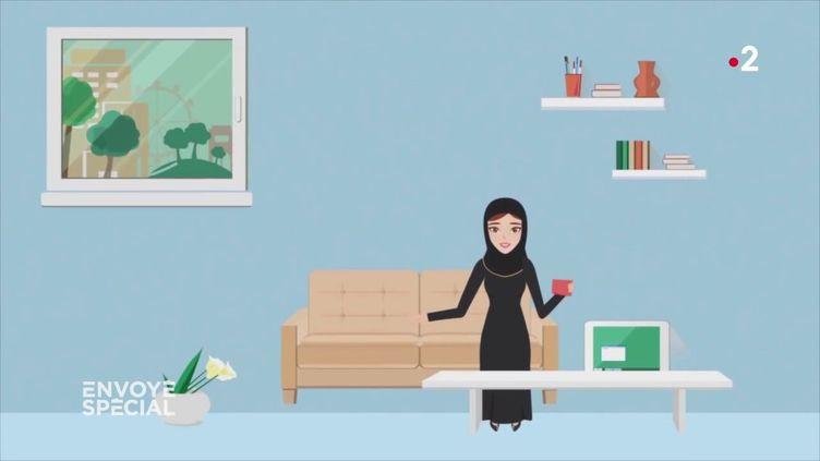 Arabie saoudite : quand une application pour smartphone permet aux hommes de surveiller les femmes (ENVOYÉ SPÉCIAL  / FRANCE 2)
