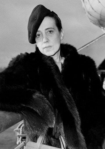 Elsa Schiaparelli en 1937  (ACME / AFP)