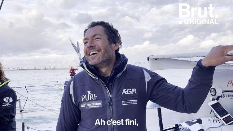 VIDEO. Vendée Globe : À bord du bateau de Romain Attanasio pour la fin de sa course (BRUT)