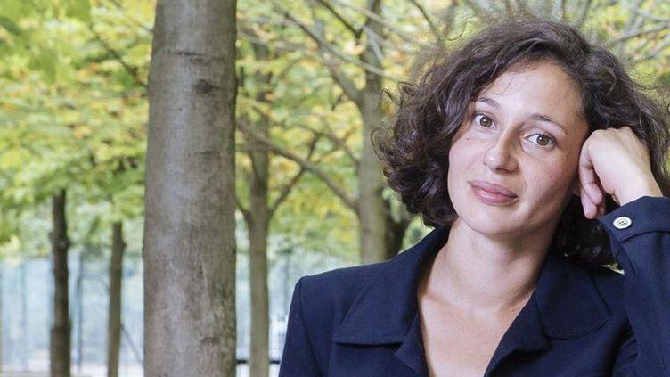 """Alice Zeniter a reçu le prix littéraire du Monde 2017 pour """"L'art de perdre"""" (Flammarion)  (Lewis Joly / JDD / SIPA)"""