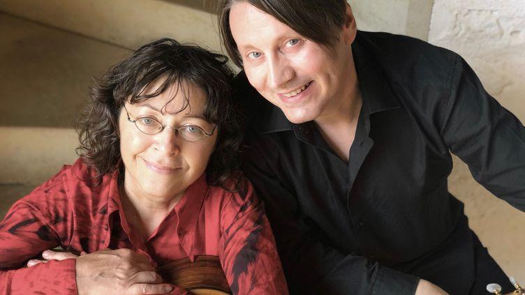 La guitariste Verioca Lherm et le chanteur Thierry Peala (CATHERINE LEDRUX)