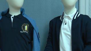 Uniformes scolaires proposés à Provins. (FRANCE 3)
