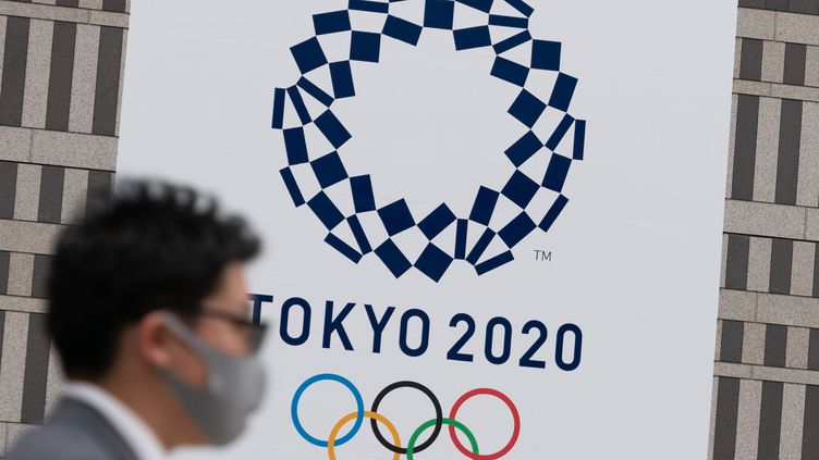 L'organisation des JO s'annonce de plus en plus compliquée en raison de la crise sanitaire, à 100 jours du coup d'envoi de la compétition.  (PIERRE EMMANUEL DELETREE /SIPA)