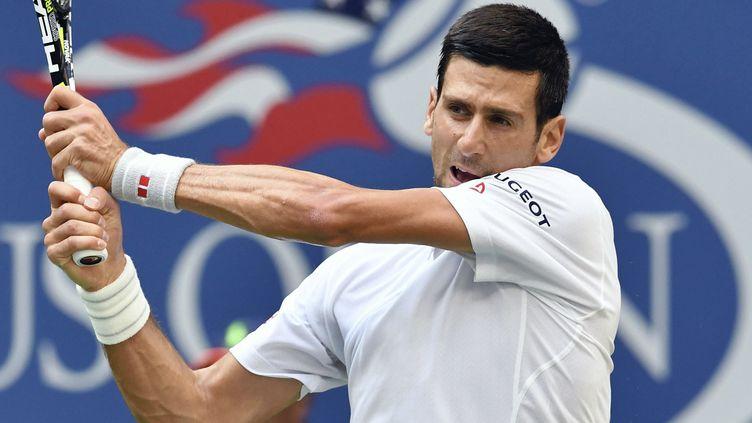 Novak Djokovic lors de l'US Open 2017. (TETSU JOKO / YOMIURI)