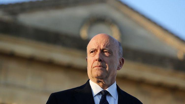 Le maire UMP de Bordeaux,Alain Juppé, le 19 mars 2014 à Bordeaux (Gironde). (NICOLAS TUCAT / AFP)