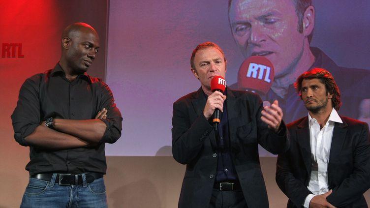 Christophe Hondelatte quitte RTL, après quatre ans de collaboration. (PIERRE VERDY / AFP)