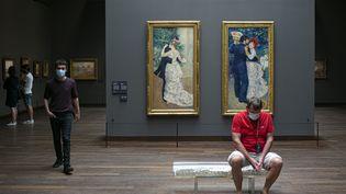 Les collections permanentes du musée d'Orsay (27 juin 2020) (SEBASTIEN MUYLAERT / MAXPPP)