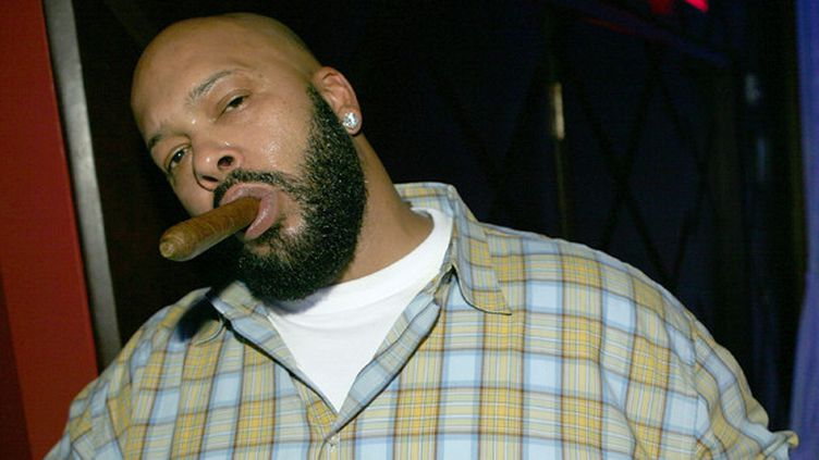 Suge Knight, fondateur de Death Row Records.  (Chad Buchanan / Getty Images North America / Getty Images)
