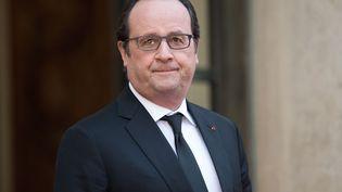François Hollande, le 1er février 2016 à l'Eysée à Paris. (NIVIERE / SIPA)