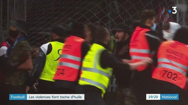 Football : des violences de plus en plus systématiques entachent la discipline