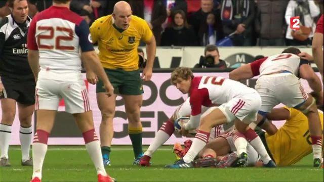 Rugby : cruelle défaite face à l'Australie