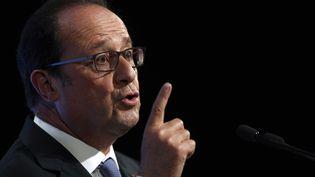 François Hollande, à Paris, le 8 septembre 2016. (CHRISTOPHE ENA / AFP)