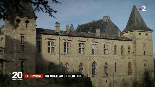 Patrimoine : un château en héritage
