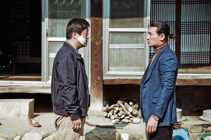 "Kwak Do-Won et Han Chul dans ""The Strangers"" de Na Hong-jin  (Metropolitan FilmExport )"