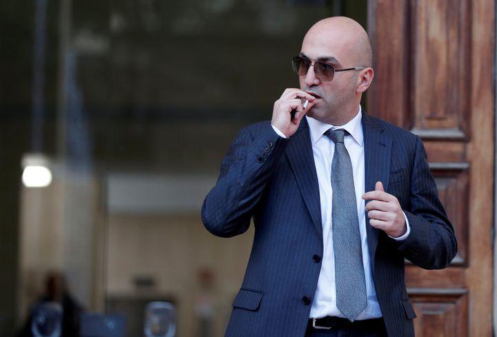 L'homme d'affaires maltais Yorgen Fenech, à La Valette (Malte), le 29 novembre 2019. (YARA NARDI / REUTERS)