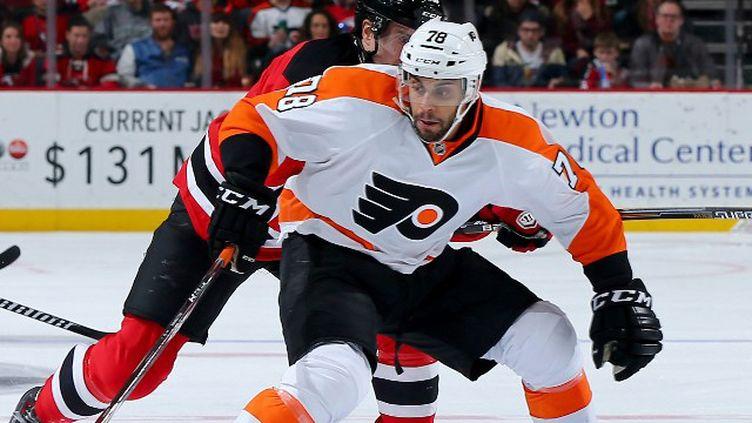 Pierre-Edouard Bellemare, l'un des deux joueurs français qui évoluent cette saison en NHL (ELSA / GETTY IMAGES NORTH AMERICA)