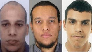 """La police soupçonne des connexions entre Sid Ahmed Ghlam (à droite) et les frères Kouachi, selon le """"Canard enchaîné"""". (  FRANCETV INFO )"""