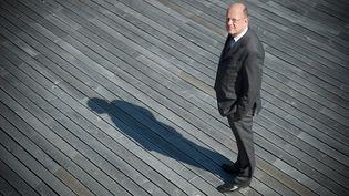 Rémy Pfimlin, alors président de France Télévisions, le 7 juillet 2010 à Paris. (MARTIN BUREAU / AFP)