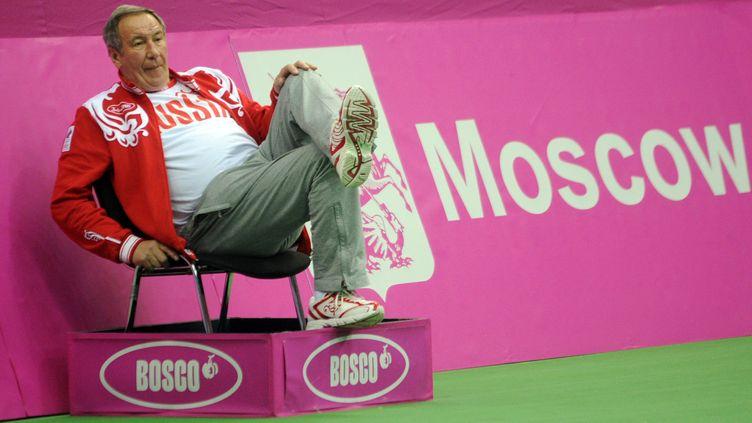 Le président de la fédération russe de tennis, Shamil Tarpischev, le 3 novembre 2011 à Moscou (Russie). (KIRILL KUDRYAVTSEV / AFP)