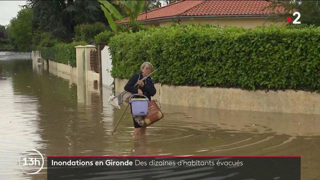 Gironde : de violents orages ont provoqué des inondations