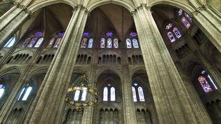 La cathédrale de Bourges. Son tympan, ses sculptures et ses vitraux en font un des plus beaux monuments religieux et une pièce maitresse de l'art gothique. (EMILIE CHAIX / PHOTONONSTOP)