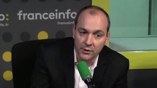 Laurent Berger, secrétaire général de la CFDT. (FRANCEINFO / RADIO FRANCE)