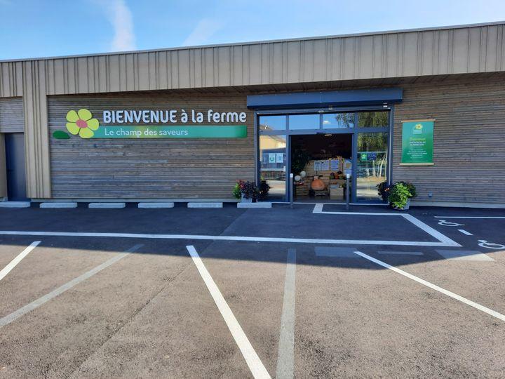 Le label Bienvenue à la ferme espère lancer une centaine de magasins comme celui-ci dans toute la France d'ici cinq ans. (GUILLAUME GAVEN / RADIO FRANCE)