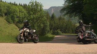 Drôme : quand les motards troublent le calme du Vercors (France 3)