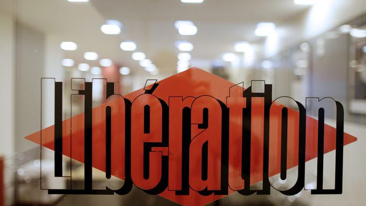 """Les bureaux du quotidien """"Libération"""" à Paris le 20 février 2014. (KENZO TRIBOUILLARD / AFP)"""