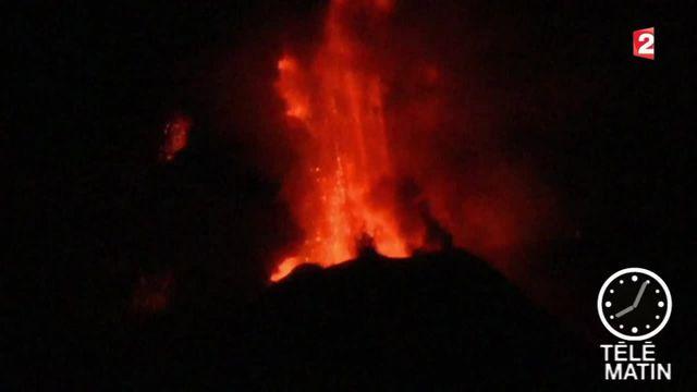 Sicile : l'Etna de nouveau en éruption