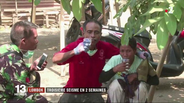VIDÉO. À Lombok, panique et dégâts après une violente réplique au séisme de dimanche