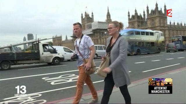 Attaque à Manchester : la consternation des touristes au Royaume-Uni