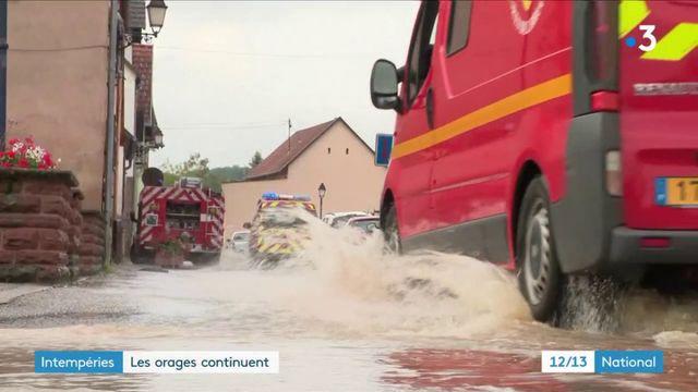 Intempéries : les orages continuent à sévir en France