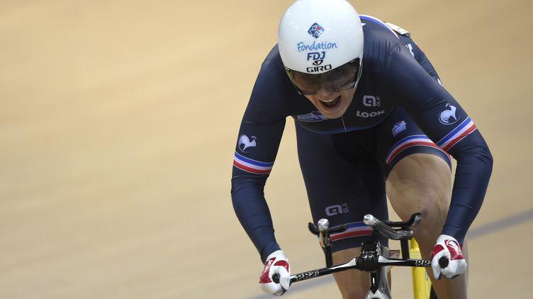 Laurie Berthon, vice championne du monde (LOIC VENANCE / AFP)