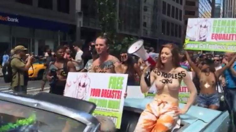 Le torse nu, une inégalité homme-femme (FRANCEINFO)