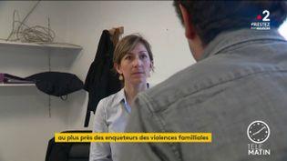 L'adjudante Charline Fossé (France 2)