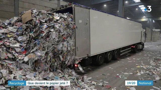 Vosges : la papèterie de Golbey recycle plus de la moitié du papier jeté par les Français