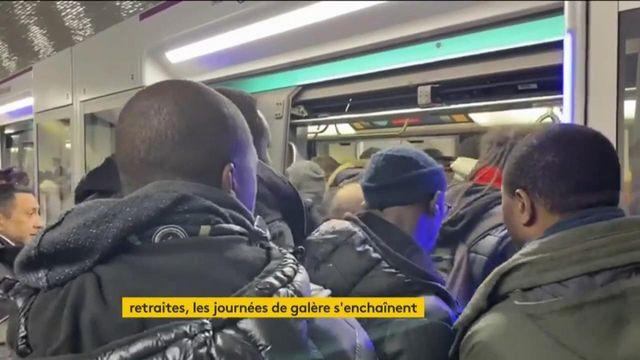 Grève contre la réforme des retraites : les Franciliens ont souffert lundi