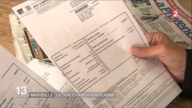 Marseille : la taxe d'habitation flambe