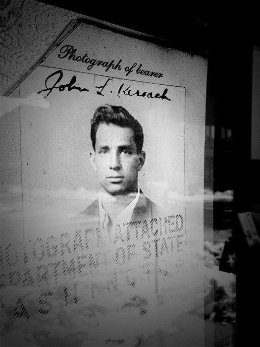 """Jack Kerouac, photo de René Tanguy - """"Sad Paradise""""  (RENÉ TANGUY )"""