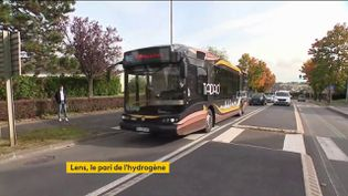 Un bus à hydrogène (FRANCEINFO)