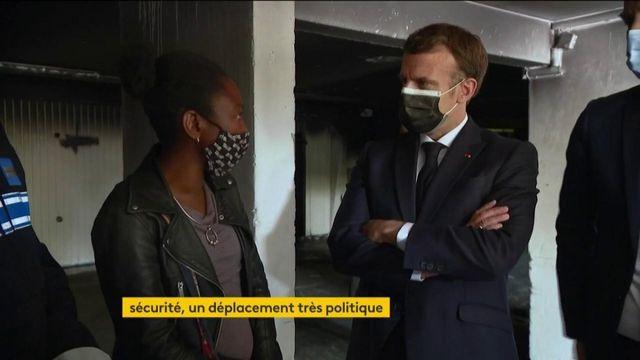 Montpellier : Emmanuel Macron sur le terrain pour évoquer la sécurité