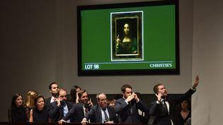 """Si la presse américaine désigne lemilliardaire russe Dimitri Rybolovlev, Christie's n'a pas révélé l'identité du vendeur, se contentant d'évoquer un """"collectionneur privé européen"""". (TIMOTHY A. CLARY / AFP)"""