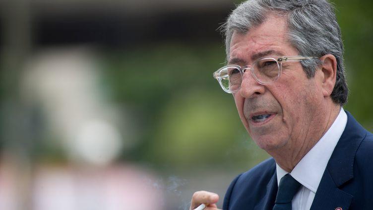 Patrick Balkany, maire de Levallois-Perret, devant le tribunal de Paris, le 20 mai 2019. (- / AFP)