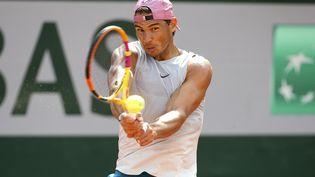 L'Espagnol Rafael Nadal entrera enpiste contre l'Australien Alexei Popyrinau premier tour de Roland-Garros, mardi1erjuin. (JEAN CATUFFE / JEAN CATUFFE)